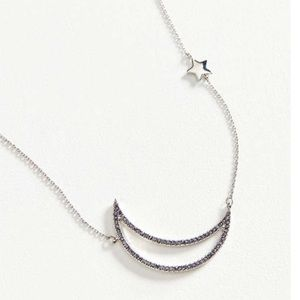 Moon necklace for Olivia